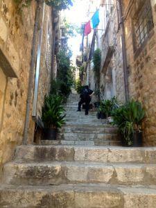 Steps in Dubrovnik